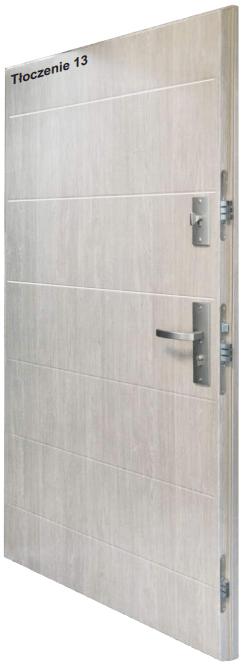 Drzwi wewnątrz klatkowe