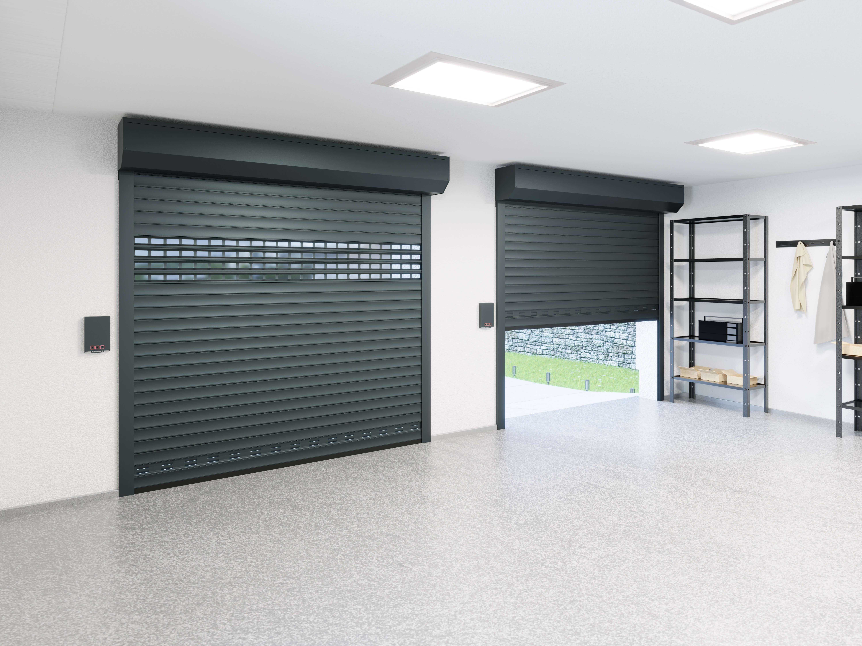 Bramy Garażowe Rolowane