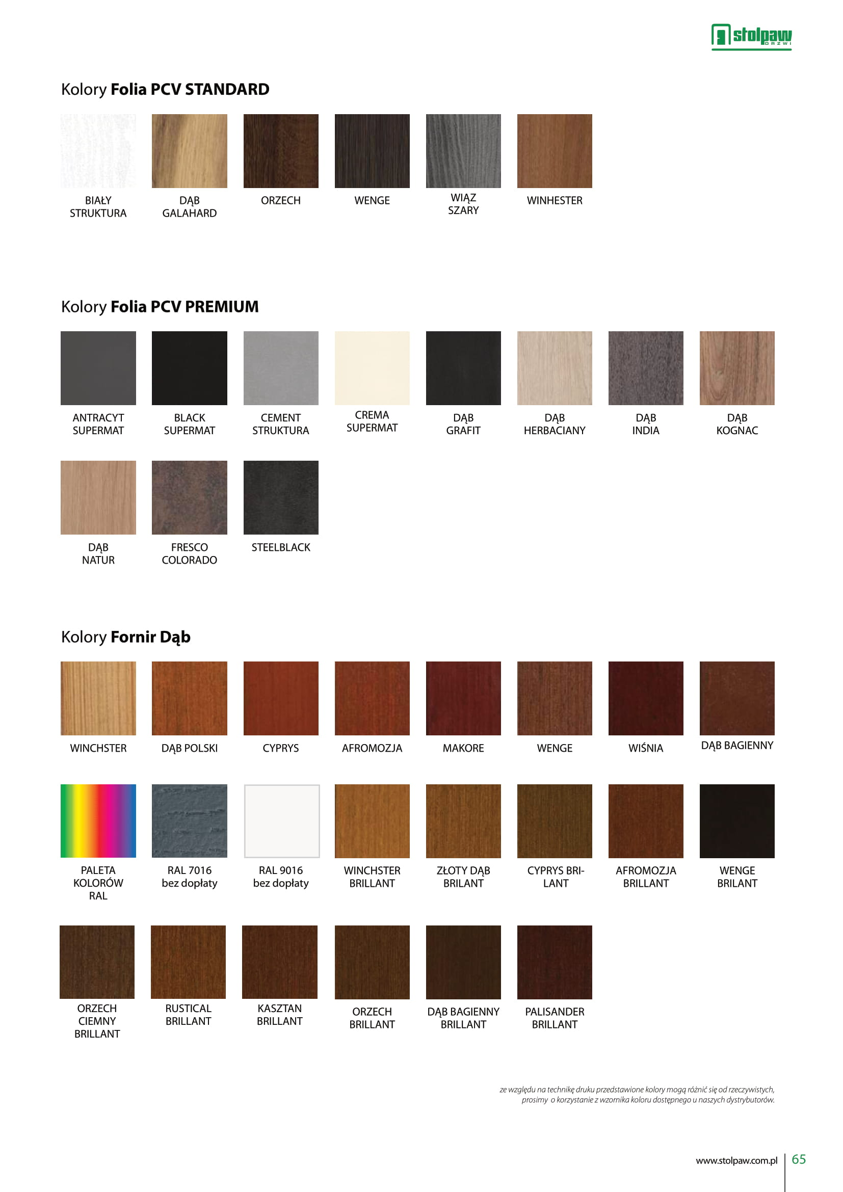 Katalog STOLPAW
