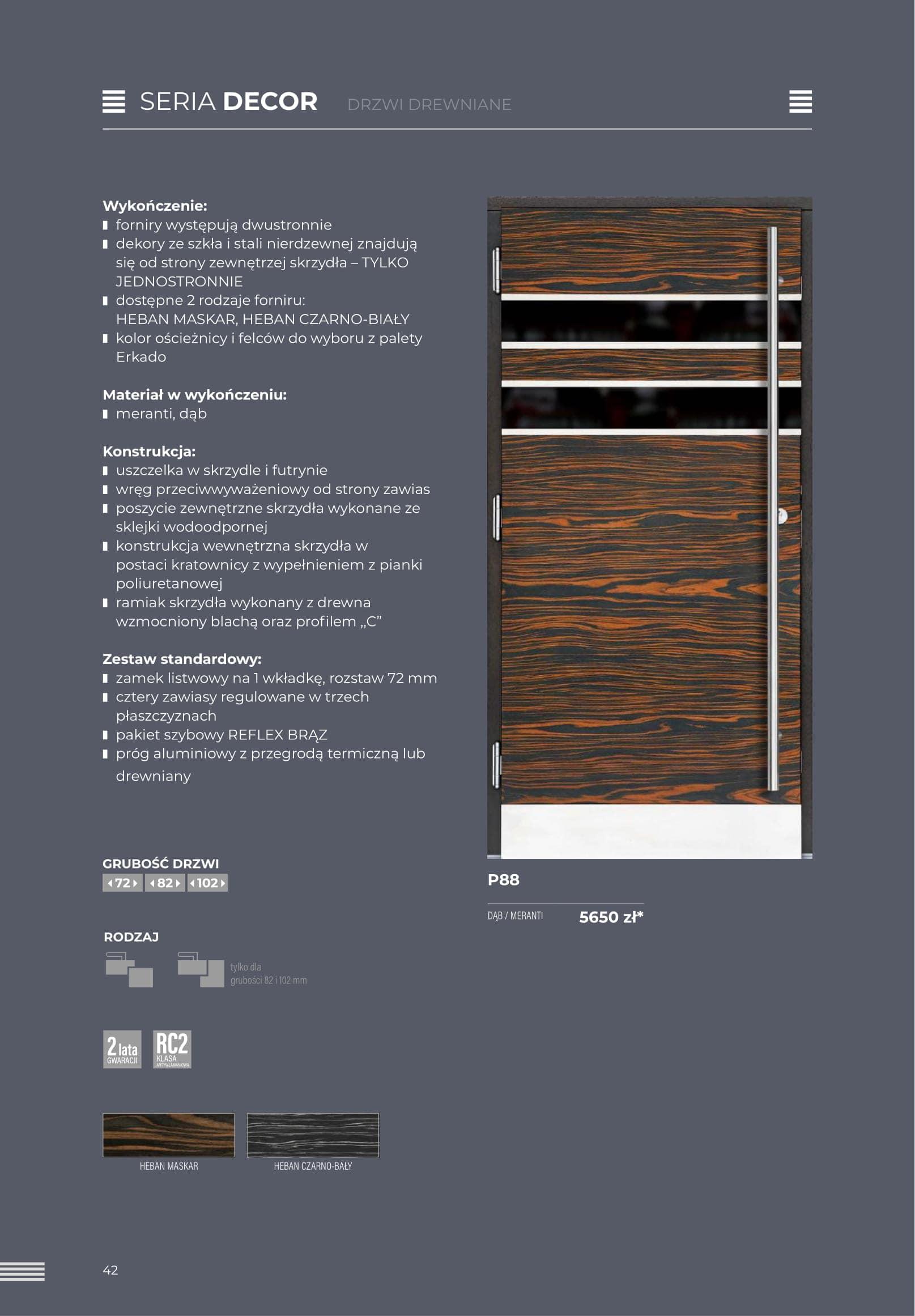 Katalog Erkado zew